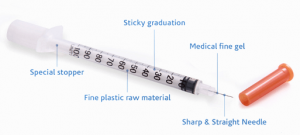 Pharmadia Insulin Syringe